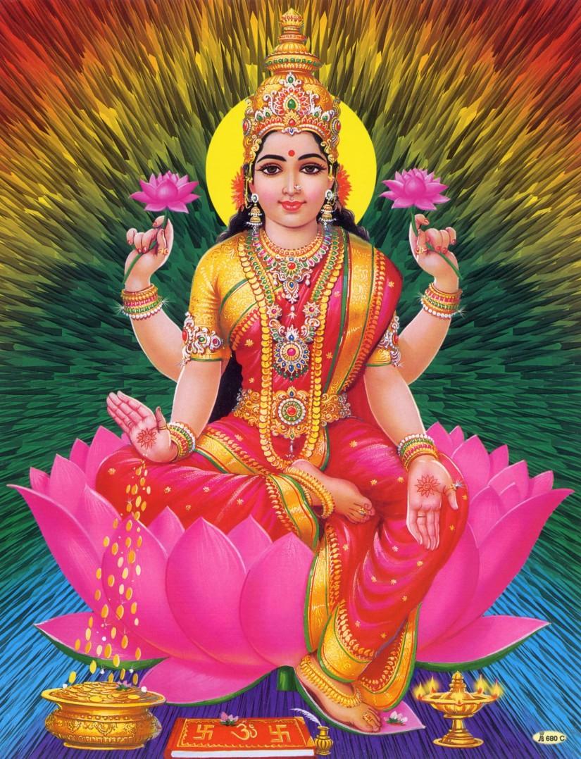 When the Goddess Calls:Lakshmi